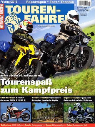 """TOURENFAHRER-Ausgabe 02-2015 mit Reisereportage """"Götter, Gräber und Geschichten"""""""