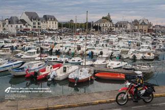 Leinen los: Im Hafen von Le Croisic an der Côte d'Amour warten die Segelboote auf den neuen Tag.