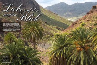 Cooler Canyon: Felsschluchten, Seen, Höhlendörfer. Der Barranco de La Aldea führt direkt in die Einsamkeit.