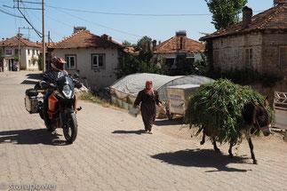 Dorfszene im Taurus-Gebirge