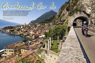 """Legendäres Limone sul Garda: Gleiten und Genießen auf der """"Gardesana Occidentale"""" am Westufer des Sees."""
