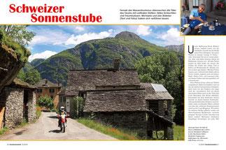 Stein auf Stein: Im Valle di Bosco schlummert das weltvergessene Bergdorf Collinasca in den Tag hinein.