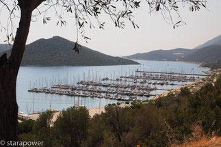 Yachthafen von Kaş