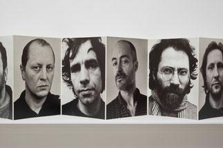 Ulrich Wüst Leporello Besucher, 49 Männer 1987/89, 1989 © Ludger Paffrath