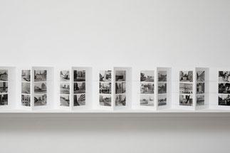 Ulrich Wüst Leporello Stadtbilder - 168 Fotografien 1979-1987, Dezember 2004 © Ludger Paffrath