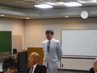 堂内昌孝 大学男子監督より活動報告