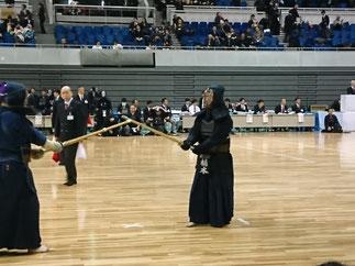 欠員により神奈川県から急遽参加いただいた橋本先輩(S58年卒)。翌12月1日には東京での学連剣友大会(関東OB大会)にも参加。