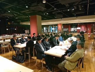 総会にはOB18名と現役部員26名が出席。