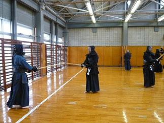 伊藤明裕 新師範も稽古に参加いただいた