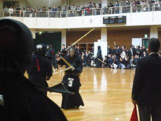 副将 濱田先輩(H10年卒)