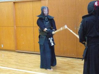 卒業2年目の足立先輩は静岡県から参加。