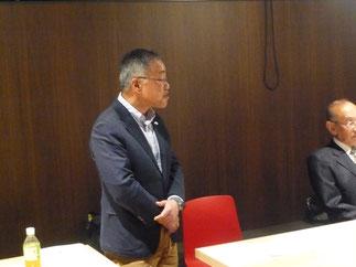 稲留新会長より推薦された小林先輩が新任の副会長として承認された。