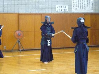 抜群の身体能力は健在!和田先輩。