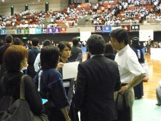 試合前後には伊藤師範・菅沼監督よりアドバイスをいただいた