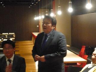 安井副会長による弊会の挨拶。