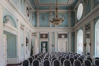 Salon im Schloss in Cieplice Śląskie-Zdrój/ Bad Warmbrunn