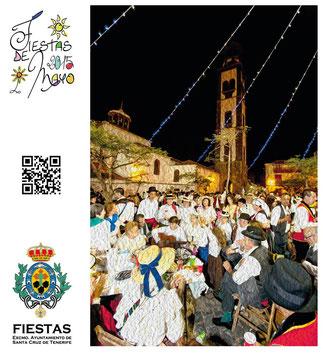 Cartel de las Fiestas de Mayo 2015 en Santa Cruz de Tenerife