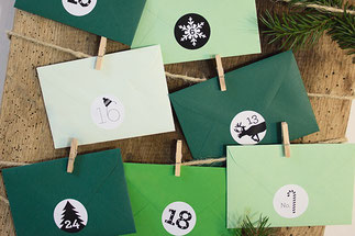 Adventskalender von Bow & Hummingbird