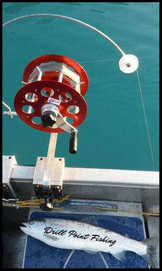 Tiefseerolle - Tiefseeschleikrolle - Schleppfischen