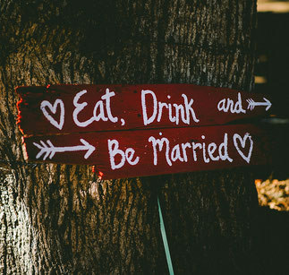 be married eat drink wedding