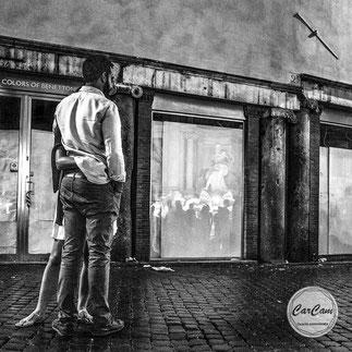 Rome, Roma, love, amour, mastroianni, marcello, black and white, noir et blanc, art, street photography, CarCam, travel