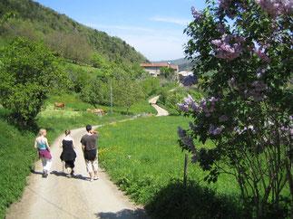 Au fil de l'eau Rivel Randonnee Pyrenees audoises