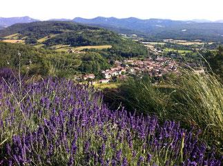 sentier du Calvaire Chalabre Randonnee pyrenees audoises