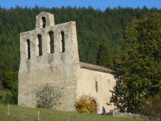 chemin du chateau Rivel randonnee pyrenees audoises