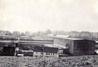 dudweiler, industrie, stahlbau, hans leffer, 1946