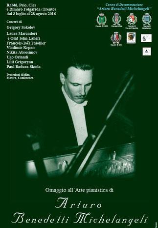 Omaggio all'arte pianistica di Arturo Benedetti Michelangeli