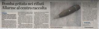 La Provincia di Como - 15/11/2012