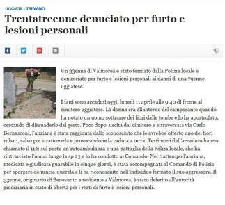 Giornale di Olgiate on line - 11/04/2016