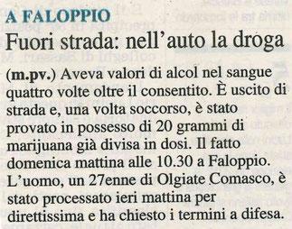 Corriere di Como - 17/01/2016