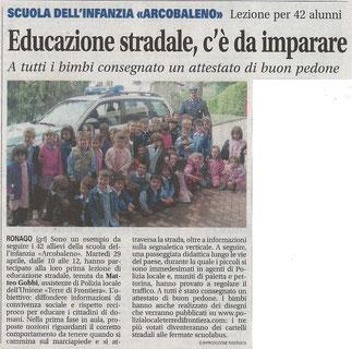 La Provincia di Como, 10/05/2014