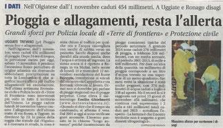 Giornale di Olgiate Comasco - 15/11/2014