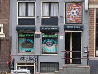 Coffeeshop Weedshop Feels Good Amsterdam
