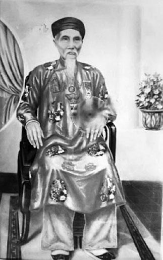 MAI KHAC DÔN, 1853-1930. Précepteur et beau-père de DUY TÂN.