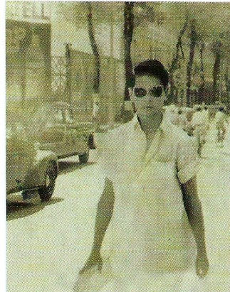 GIAO .SAÏGON 1955. Photo extraite du Livre de Giao.