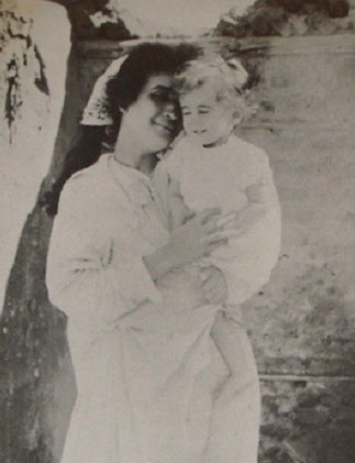 HANENAH SAATI, 1è EPOUSE D'EMILE BERNARD avec ANTOINE.