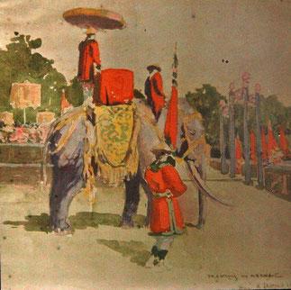 Fastes à la Cour Impériale : les éléphants et les mandarins