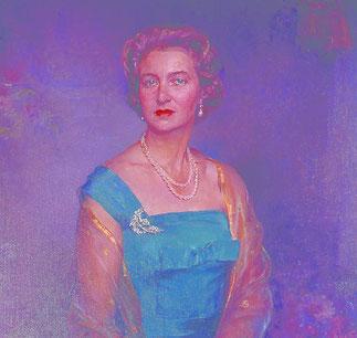 LA DUCHESSE ELIZABETH DE HOHENBERG,PRINCESSE DE LUXEMBOURG, DE NASSAU et DE BOURBON-PARME