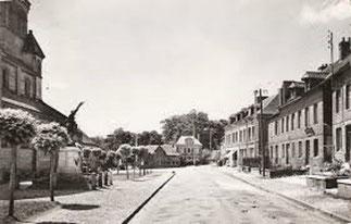 Limesy.  Le bourg.  1956