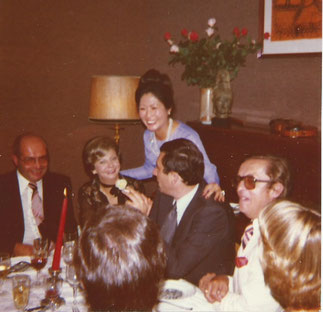 de gauche à droite : Jean-Claude Linget, Nicole Pantalacci, Paul Arnaud Herissey et Michel Tomasi.