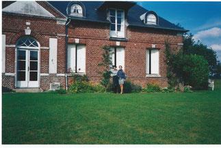 La belle maison de la ferme Frontebosc occupée aujourd'hui par l'Agriculteur Guillaume