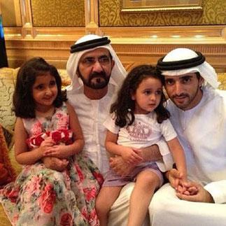 16 Juillet 2013. S.A. MOHAMMED et SHEIKA  FATMA AL NAHYAN (2006) - S.A HAMDAN et SHEIKHA SHEEMA AL KHALIFA (2010)