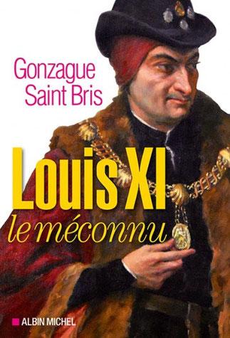 LOUIS XI (3 JUILLET 1423 + 30 AOÛT 1483) 6è ROI branche de Valois  de la Dynastie capétienne. Portant  le collier de Saint Michel . Peint en 1925 par Georges A.L.Boisselier (1876-1943).