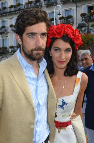 Carlo Borromeo et son épouse Marta Ferri