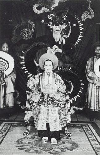 L'impératrice Duc Tu Cung, mère de l'empereur Bao Dai.