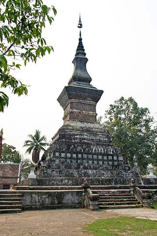 Ce Stupa de 1818 contiendrait des reliques de Bouddha