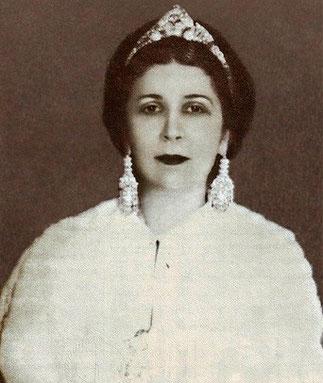 SA MAJESTE LA REINE NAZLI D'EGYPTE 1894-1978. 1919/1936